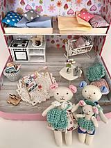 - Čarovný kufrík s myšacou rodinkou-SLÚŽI AKO UKÁŽKA - 11431489_