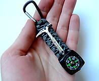 Kľúčenky - Kompas na batoh+cepínik - 11432989_