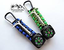 Kľúčenky - Kompas na batoh+cepínik - 11432990_