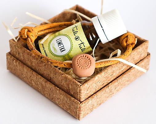 """Darčekový balíček """"Voňavý náramok"""" s olejčekom (Ťuli a Ťuli)"""