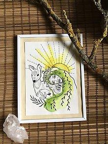 Kresby - Originál ilustrácia - Mawka - 11432514_