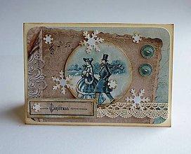 Papiernictvo - Zimná nostalgia 5 - 11433353_