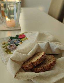 Úžitkový textil - Vrecúško na pečivo - 11432593_