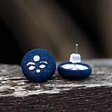 Náušnice - Buttonkové náušnice - 11433261_