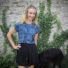 Tričká - Krátké tričko z organické bavlny - 11432803_