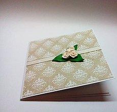 Papiernictvo - Pohľadnica ... kytica ruží - 11436155_