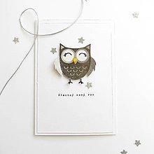 Papiernictvo - Pohľadnica, šťastný nový rok - 11434759_