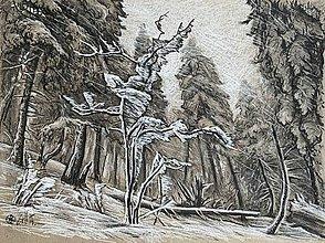 Obrazy - Snow sculpture - 11434298_