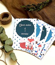 Detské doplnky - Zvieratkové miľnikové kartičky - 11435834_