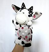 Hračky - Maňuška krava - Kravka z Jahodnej - 11435397_