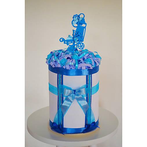 Plienková torta VALČEK - modrá
