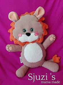 Hračky - Strapatý lev - 11435616_