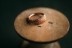 Prstene - Prsteň papraď - 11434409_