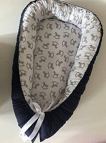 Textil - Hniezdo pre bábätko - 11434863_