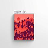 Grafika - Podzimní čas - 11435467_