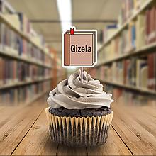 Papiernictvo - Menovka na cupcake kniha - 11435271_