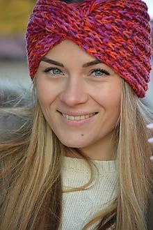 Ozdoby do vlasov - čelenka barevná - 11436901_