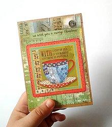 Papiernictvo - Zápisník A6 do kabelky - 11436623_