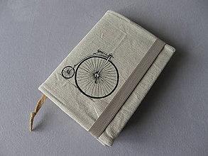 Papiernictvo - Obal na knihu velocipéd - 11436568_
