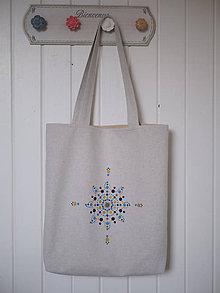 Veľké tašky - Maľovaná - 11437733_