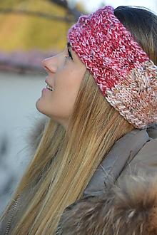 Ozdoby do vlasov - čelenka barevná - 11438301_
