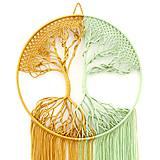 """Dekorácie - Makramé dekorácia """"Strom života"""" - 11438465_"""