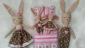 Hračky - Rodinka zajačikov - 11442455_