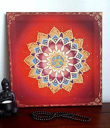 Dekorácie - Mandala Životnej vášne - 11442041_