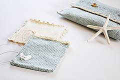 Detské doplnky - Pletená taška na plienky - 11441200_