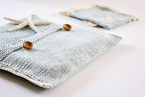 Pletená taška na plienky