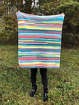 Textil - Háčkovaná deka FUNNY BABY - 11439933_
