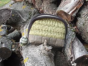 Taštičky - taštička zelená - 11441568_