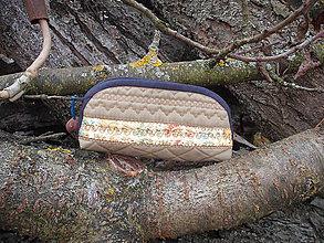 Taštičky - taštička khaki - 11441662_