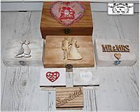 Krabica na svadbu-rôzne velkosti :)