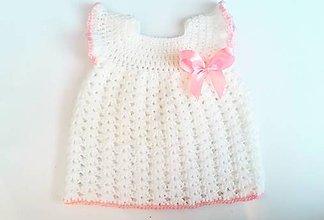 Detské oblečenie - Šatičky pre princeznú veľkosť 0-2m - 11440915_