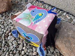 Hračky - Montessori hracia kocka. - 11442293_