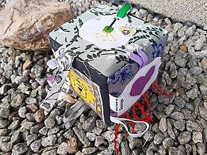 Hračky - Montessori hracia kocka. - 11442325_