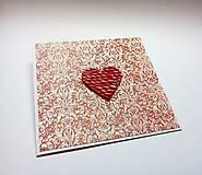 Papiernictvo - Pohľadnica ... valentínka 3 - 11444905_