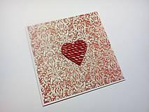 Papiernictvo - Pohľadnica ... valentínka 3 - 11444907_