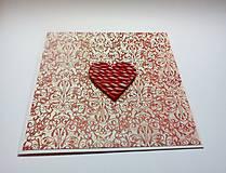 Papiernictvo - Pohľadnica ... valentínka 3 - 11444913_
