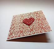 Papiernictvo - Pohľadnica ... valentínka 3 - 11444916_