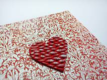 Papiernictvo - Pohľadnica ... valentínka 3 - 11444918_