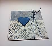 Papiernictvo - Pohľadnica ... valentínka 4 - 11444928_