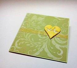 Papiernictvo - Pohľadnica ... svadobná - 11444883_