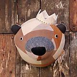 Dekorácie - medvěd - 11443039_