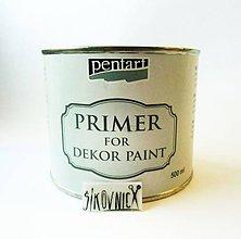 Farby-laky - Dekor paint soft 500 ml, PRIMER - 11443338_