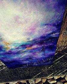 Obrazy - Blue rainbow - 11443102_