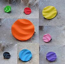 Odznaky/Brošne - brošničky vlnky / viac farieb - 11443661_