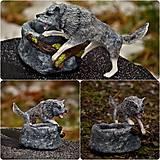 """Prstene - Vlk - pre """"vlčicu"""" na prstene a iné poklady - 11444337_"""