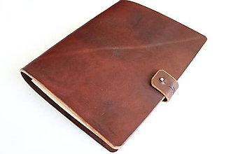 Papiernictvo - Kožený karisblok - A5 - 11443568_